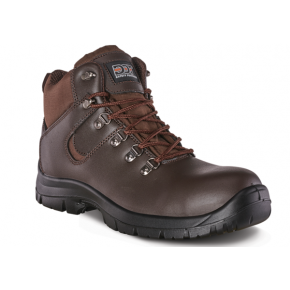 Hiker Brown Safety Boot