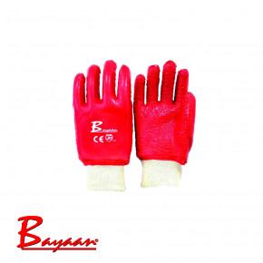 Bayaan PVC Knit Wrist Terry Palm Gloves