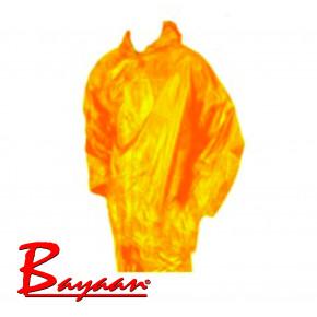 Bayaan Yellow Rubberised RainSuit