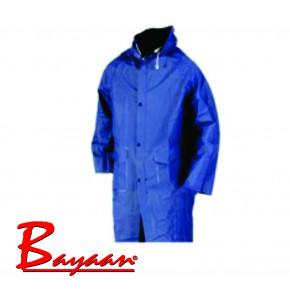 Bayaan Navy Pvc Rain Coat