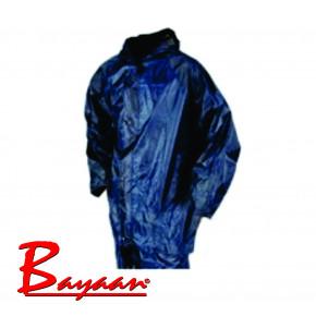 Bayaan Navy Rubberised Rain Suits