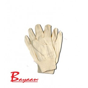 Cotton Drill Glove Knit Wrist