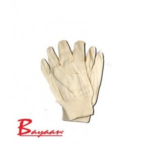 Cotton Drill Glove Knit Wrist