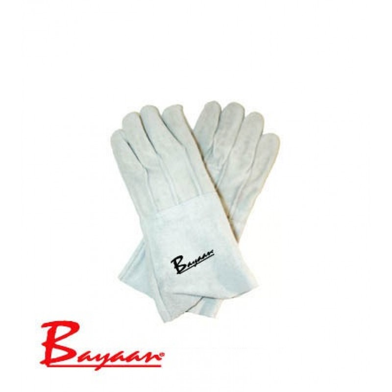 Bayaan Chrome Leather Gloves