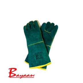 Bayaan Green Lined Elbow Welding Glove