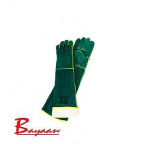 Bayaan Green Lined Shoulder Welding Glove