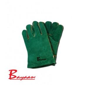 Green Lined Wrist Welding Glove