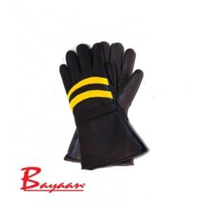 Motorbike PU Thick Furlined Gloves