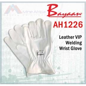 VIP White Colour Tig Welding Goat Skin Glove