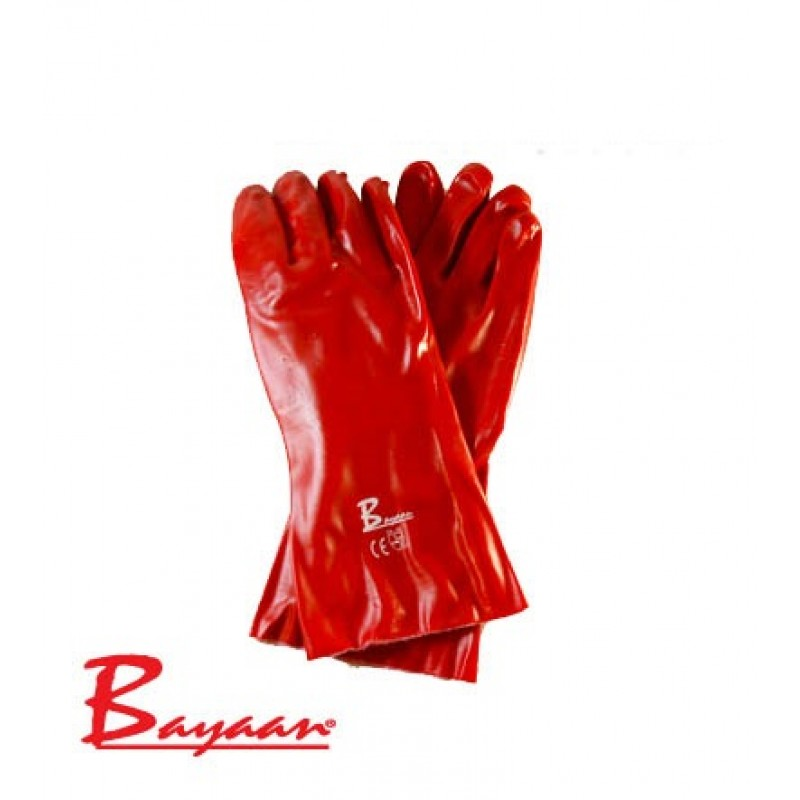 Bayaan Pvc Elbow Gloves 40cm CE Approved