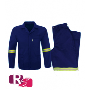 RS Royal Blue Conti Suit P/C with Reflective Tape