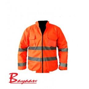 Bunny Jacket In Orange