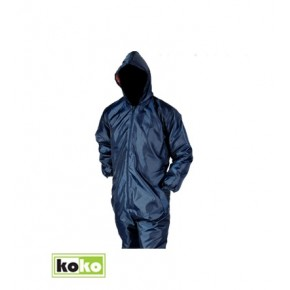 Navy Blue One Freezer Overall