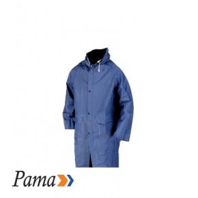 Pama Navy Pvc Rain Coat
