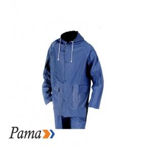 Pama Navy Pvc Rain Suit