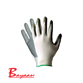 Bayaan Nitrile with Polyester Glove