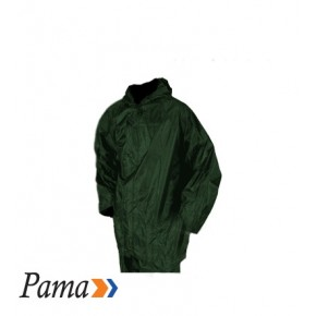 Pama Olive Rubberised RainSuits