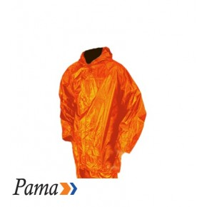 Pama Orange Rubberised RainSuits