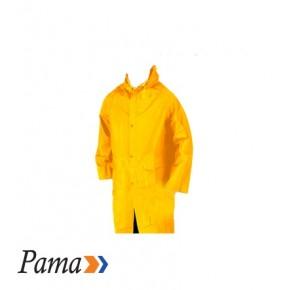 Pama Yellow Pvc Rain Coat L