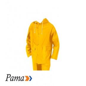 Pama Yellow Pvc Rain Suit