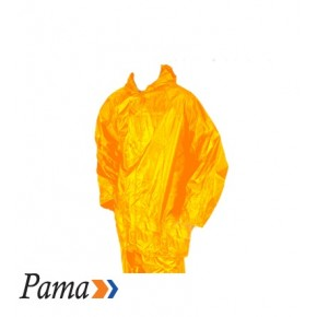 Pama Yellow Rubberised RainSuit