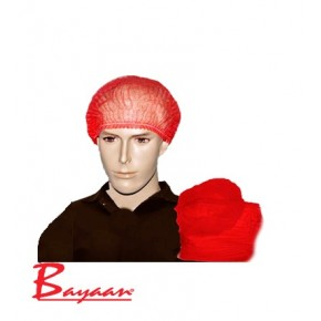 Disposable Mop Cap Red