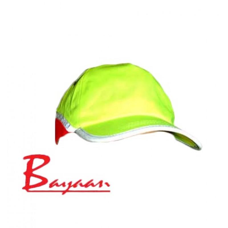 Bayaan Lime Reflective Cap