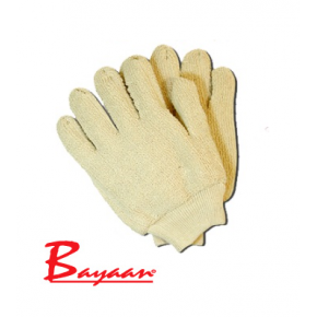 Bayaan Terry Toweling Knit Wrist Glove