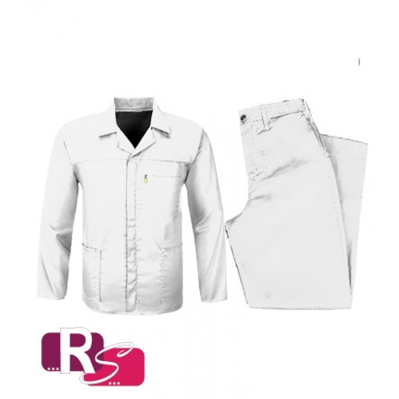 RS White Conti Suit