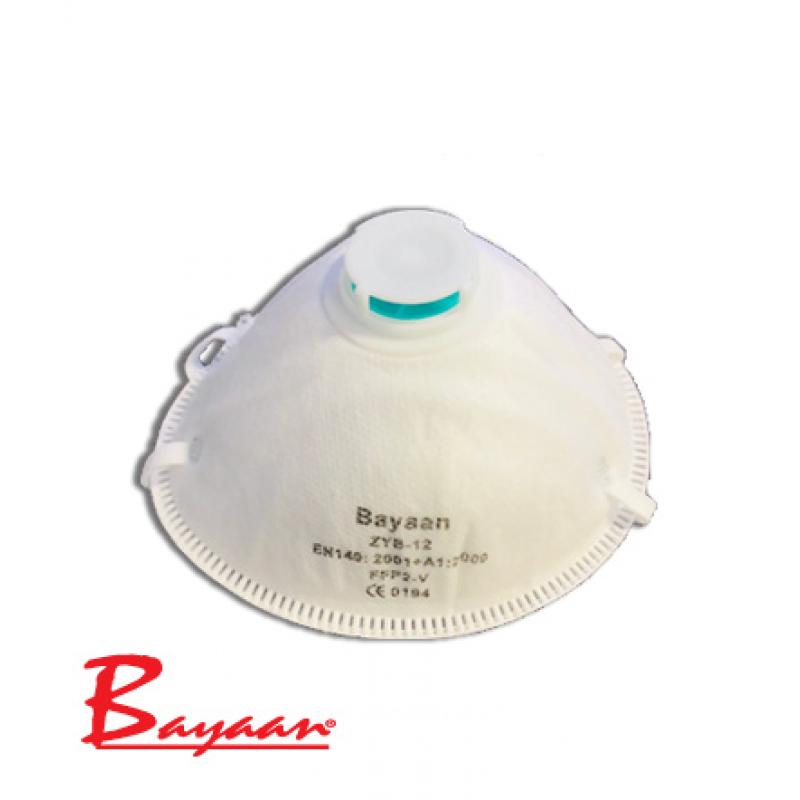 Bayaan Premium Valve Dust MASK FFP2V NRCS