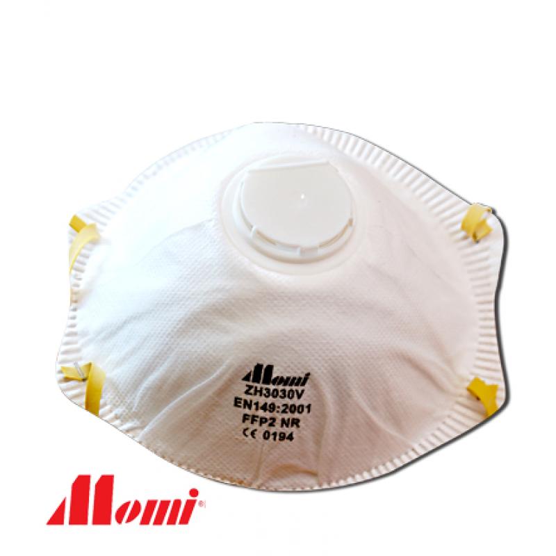 Momi Premium FFP2V with Valve Dust Mask