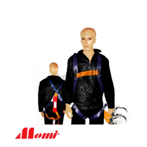 Momi Full Body Harness Double lanyard Snap Hook SABS