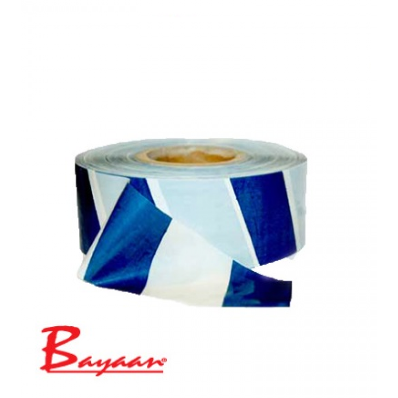 Barrier Tape Blue & White