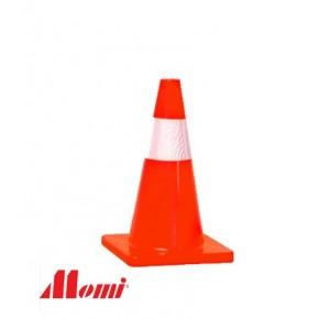 Road Cone 450mm Orange Soft PVC