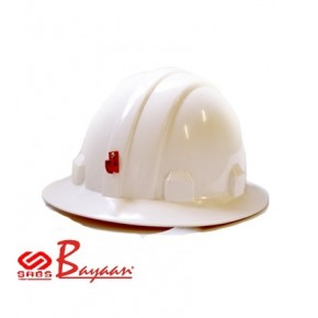 White Full Brim SABS Hard Hat