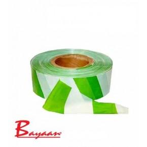 Barrier Tape Green & White