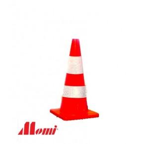 Road Cone 700mm Orange Soft PVC