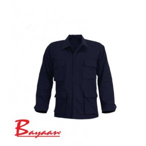 Combat Shirt In Navy
