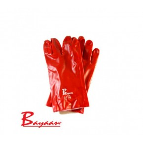 Bayaan Pvc Open Cuff 27cm Gloves CE Approved